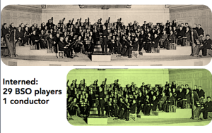 One-third of the Boston Symphony was incarcerated in efforts led by a 22-year old J. Edgar Hoover.