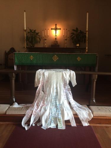 Soul is not shredded altar